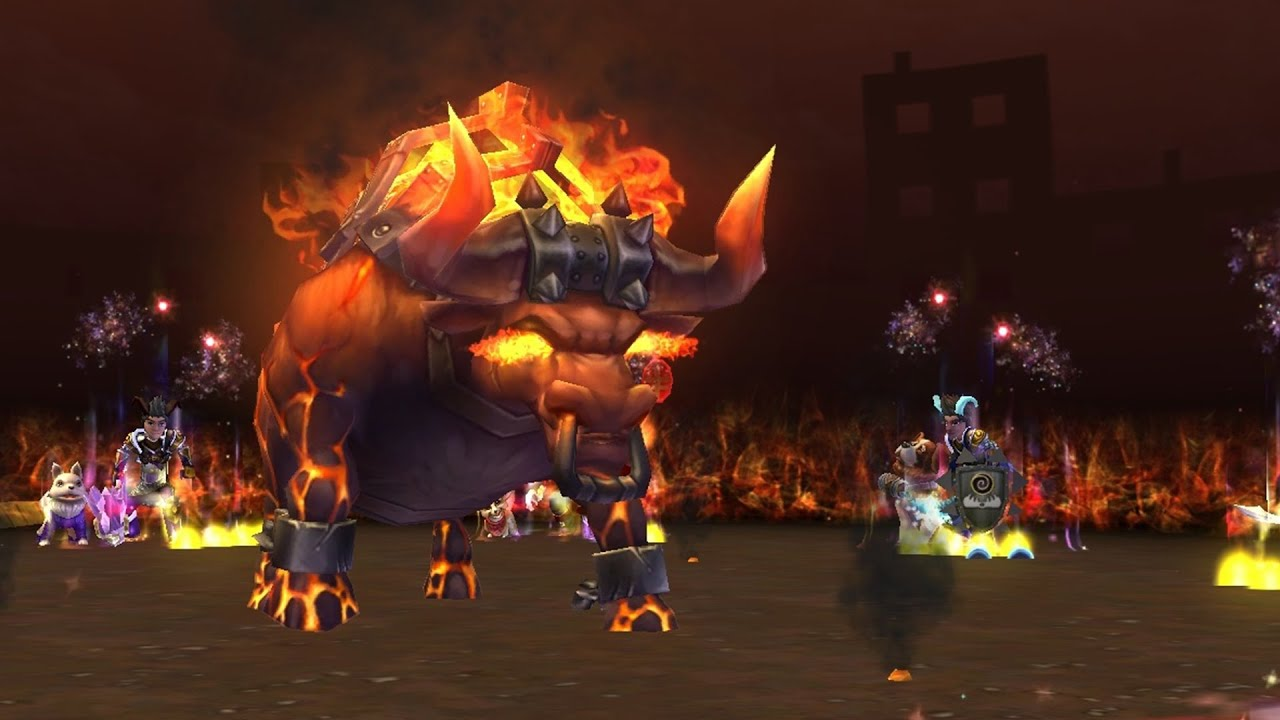Wizard101 new polaris fire spell raging bull youtube thecheapjerseys Gallery