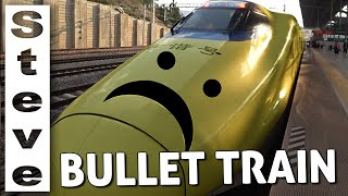 DISAPPOINTING CHINESE BULLET TRAIN??