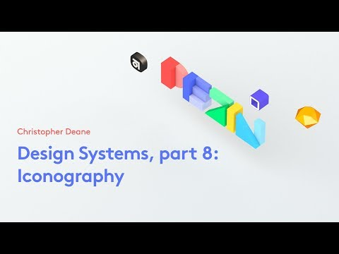 Design Systems, part 8: Iconography