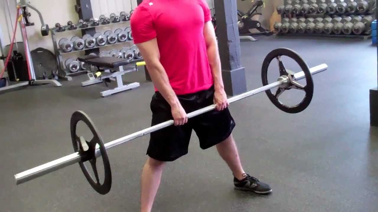 Barbell Sumo Deadlift - YouTube