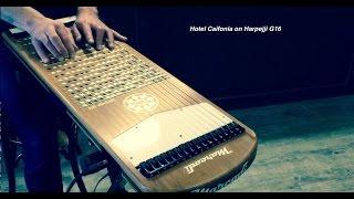 Hotel California (The Eagles) on harpejji g16 by Mathieu Terrade.