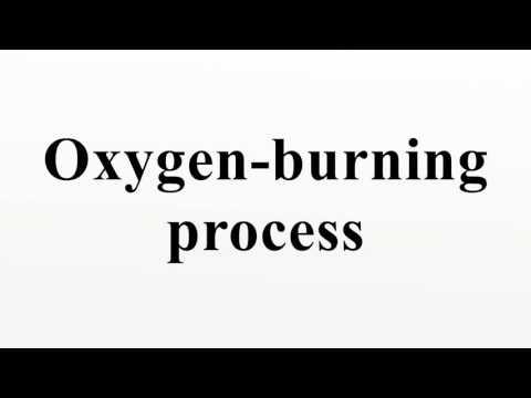 Oxygen-burning process