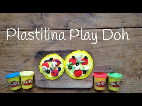 Pizza de plastilina, descubre cómo hacer estas figuras de plastilina para niños
