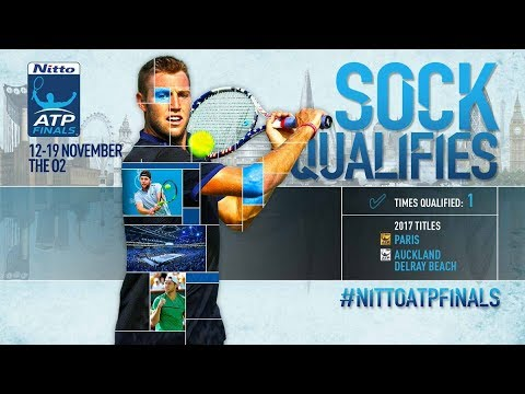 Sock Qualifies For Nitto ATP Finals 2017