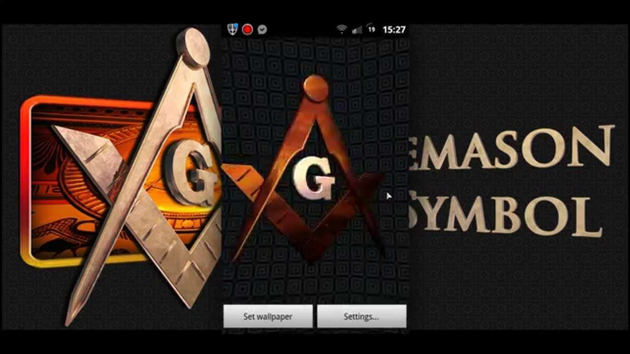 Freemason 3D Android Wallpaper