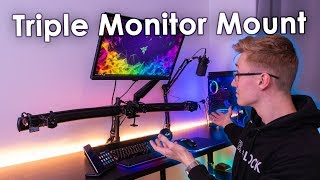 Epic Triple 1440p Monitor Gaming Setup