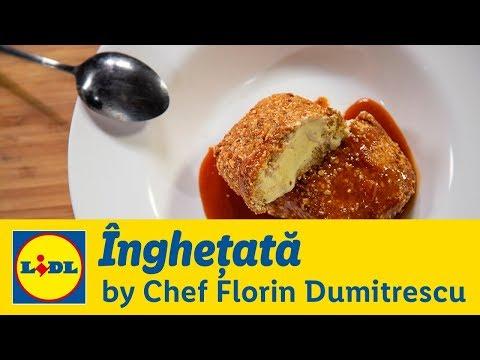Inghetata prajita • Gateste cu Chef Florin Dumitrescu
