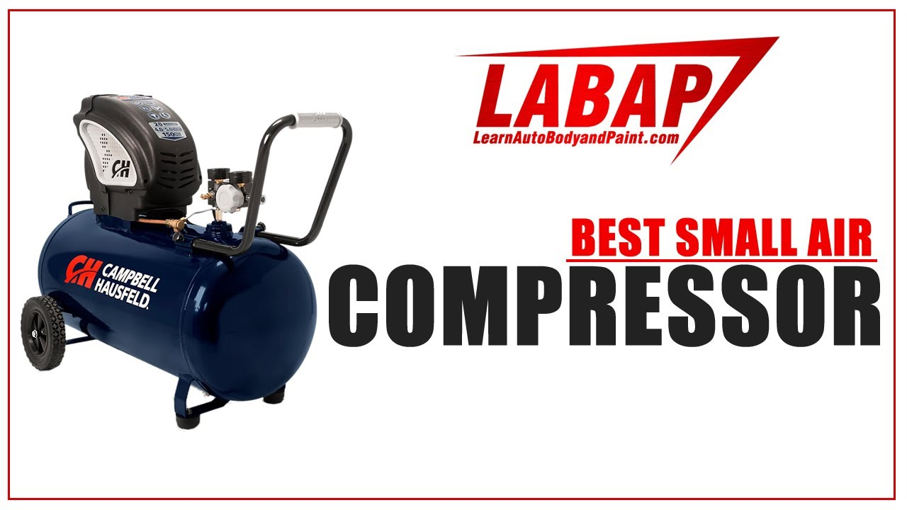 Best Small 20 - 30 Gallon Air Compressors for Auto Painting
