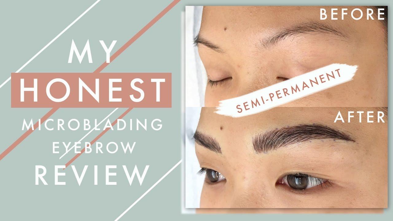 Eyebrow microblading: reviews, description of the procedure. Eyebrow care after microblading 2