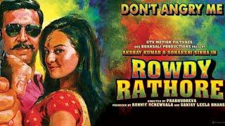 Rowdy Rathore 👌  movie  and facts |Akshay kumar | sonakshi sinha