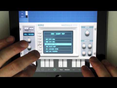 iPad Music App Korg Gadget Marseille