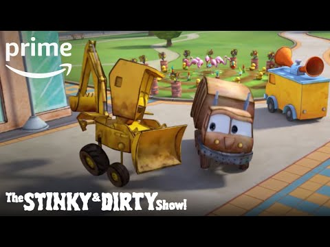 The Stinky & Dirty Show Season 2 - Exclusive: Sing-A-Long | Prime Video Kids