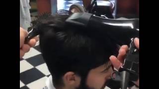 Potong rambut profesional, undercut 2017