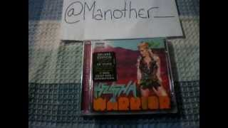 "Ke$ha - Warrior ""Deluxe Explicit Version"" (Unboxing CD)"