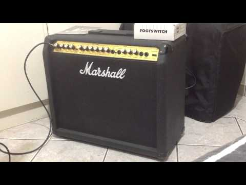 Marshall Valveste 8080 made in UK 80w review (portuguese)