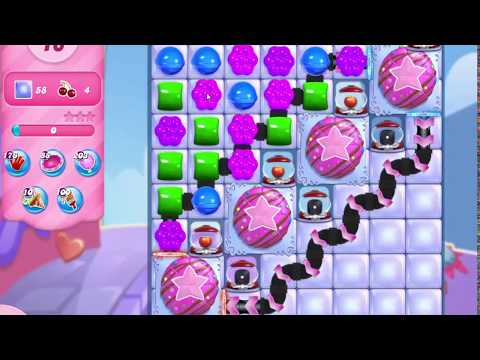 Candy Crush Saga Level 3098 NO BOOSTERS (16 moves)