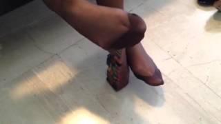 Video footjob in brown stockings download MP3, 3GP, MP4, WEBM, AVI, FLV September 2018