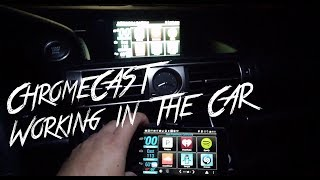 Install A Chromecast Into A Car How To | Android Wireless Screen Mirroring.