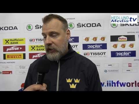 TRE KRONOR: Oliver Ekman Larsson sjuk – Rikard Grönborg inför Lettlandsmatchen