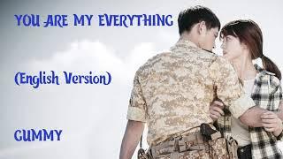 You are My Everything Lyrics (English Version)
