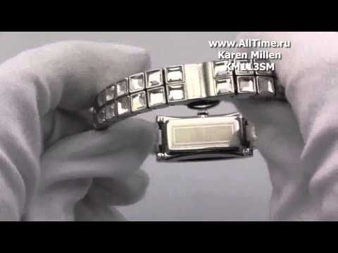 Женские наручные fashion часы Karen Millen KM113SM