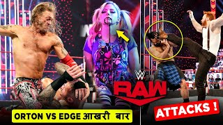 Edge FINALLY Beat Randy Orton Sheamus Attacks Drew Mcintyre Alexa Vs Cross WWE Raw Highlights