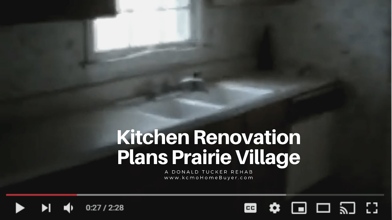 Donald Tucker Rehab:  A Look at the Kitchen in Prairie Village at kcmoHomeBuyer.com
