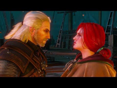 Triss Romance Scene | Witcher 3