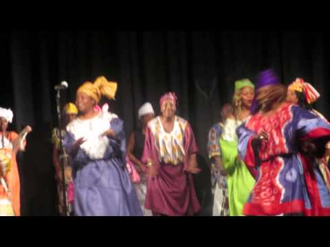 Liberia National Culture Ambassador Of America In Concert......