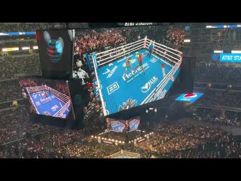 Canelo vs Saunders Largest Indoor Attendance New Boxing Record USA