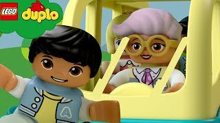 LEGO DUPLO - Wheels On The Bus | Learning For Toddlers | Nursery Rhymes | Cartoons and Kids Songs