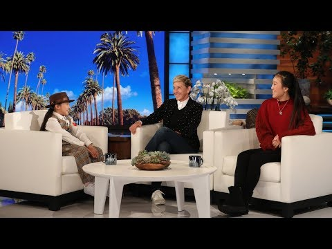 Lil' Mushroom Tries to Give Ellen a Halloween Scare