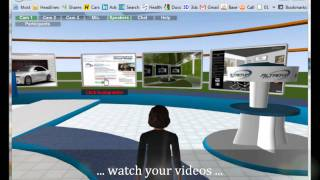 Get your interactive 3D website today with 3DXplorer / Meet-in-3D. 3D Live Chat. Sales & Support.