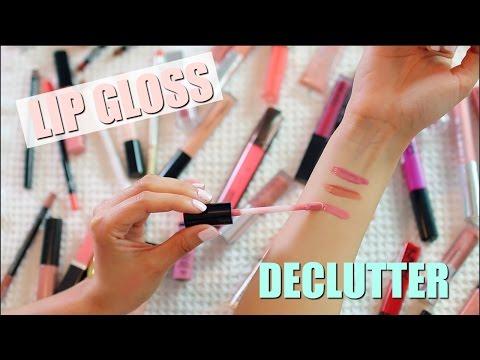 Lip Gloss Collection + Declutter!