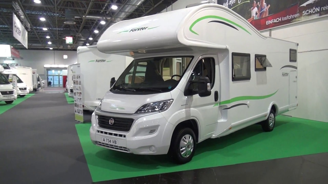 Forster A734VB motorhome review - YouTube