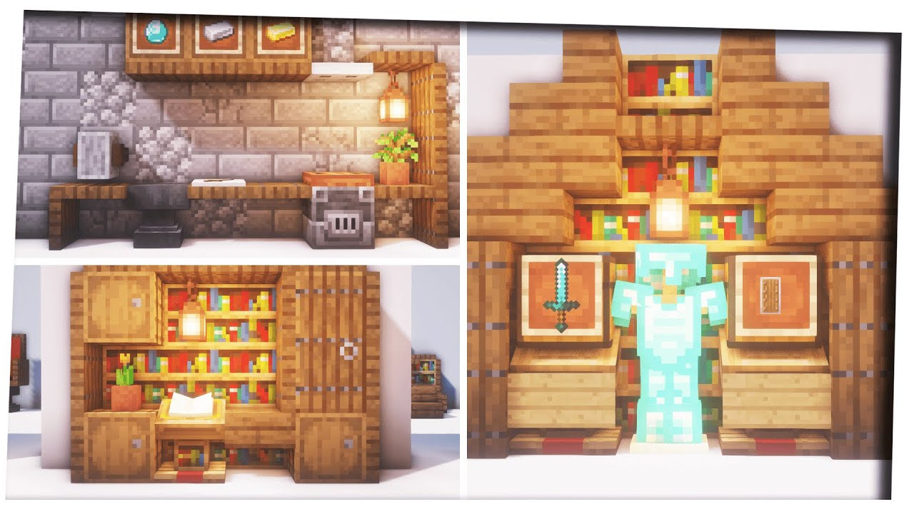Minecraft - 25 Interior Design Inspiration & Tips ...