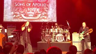 "Sons of Apollo - ""Signs of The Time"" - Live 2018"