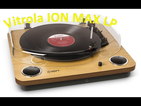 Vitrola (toca disco) ION MAX LP: Review - NOVO
