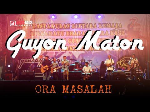 GUYON WATON | ORA MASALAH | LIVE GUNUNGKIDUL