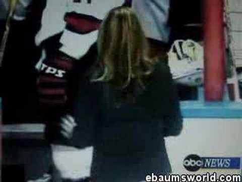 Embarrasing, Forgets National Anthem At Hockey Game