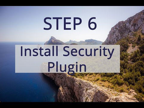 WordPress 2019 How to Install Security Plugin Tutorial thumbnail