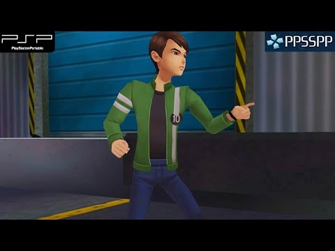 Ben 10: Alien Force - PSP Gameplay 1080p (PPSSPP)