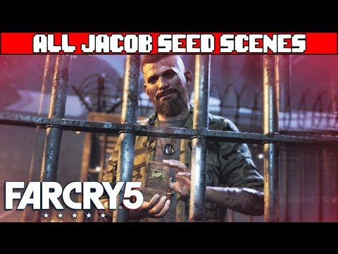 FAR CRY 5 All Jacob Seed Scenes
