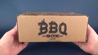 Subscription Spot | BBQ Box February 2018 Subscription UNBOXING!