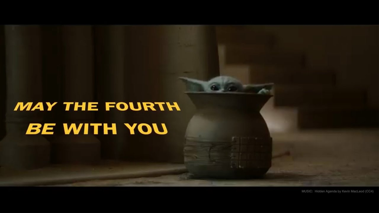 A screenshot from Happy Star Wars Day