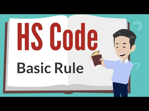 HS Code in Logistics. Export & Import shipping process with HS Code List/Chapter/Heading/Sub Heading