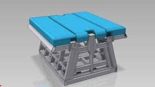 Сейсмозащитная кровать.