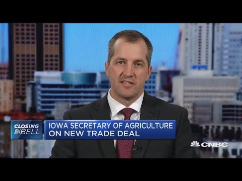 Iowa Sec. of Agriculture: New North American trade deal good for Iowa farmers