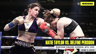FULL FIGHT | Katie Taylor vs. Delfine Persoon (DAZN REWIND)