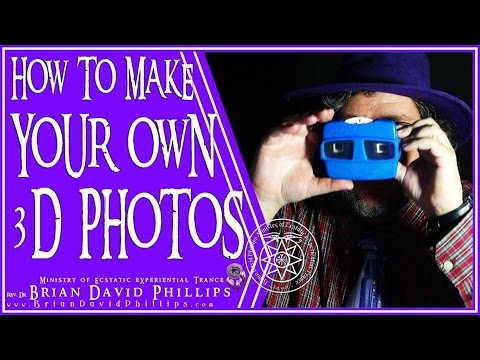 How to make Your Own 3D Photos!